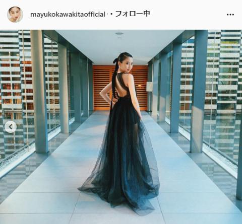 河北麻友子公式Instagram(mayukokawakitaofficial)より