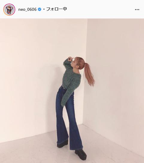 ねお公式Instagram(neo_0606)より