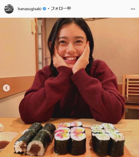 杉咲花公式Instagram(hanasugisaki)より