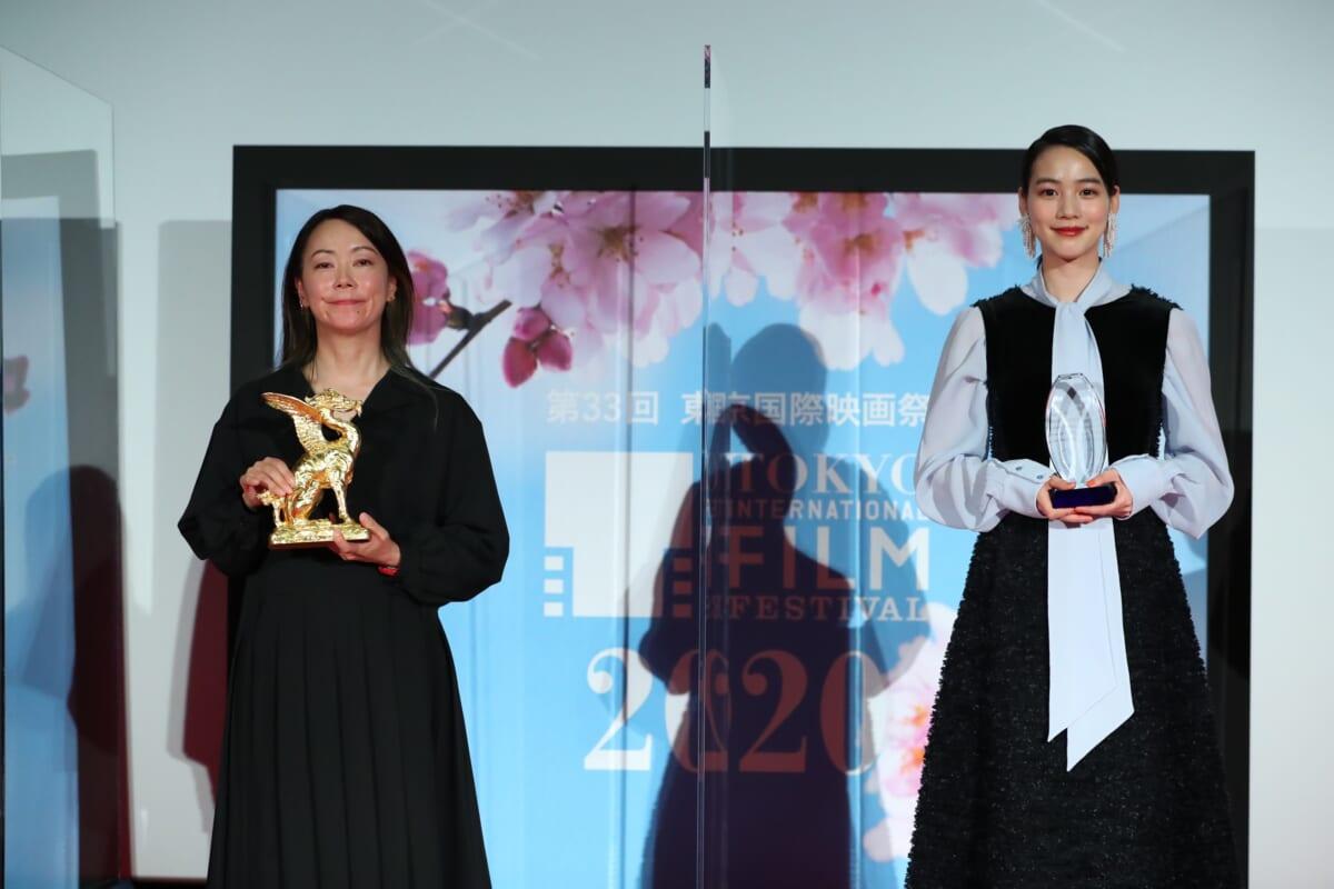 第33回東京国際映画祭クロージングセレモニー©2020 TIFF