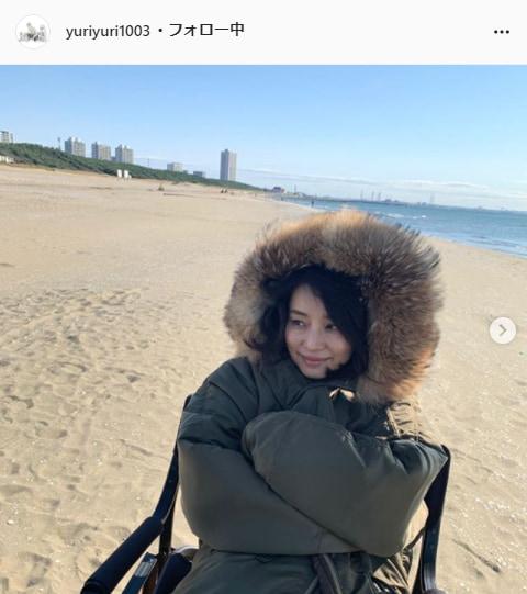 石田ゆり子公式Instagram(yuriyuri1003)より