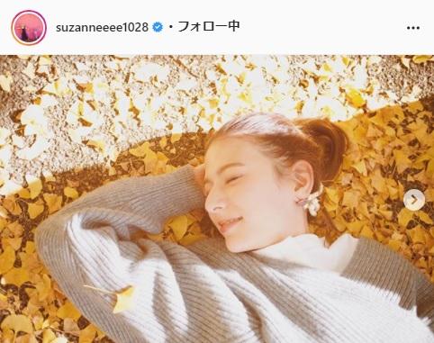 スザンヌ公式Instagram(suzanneeee1028)より