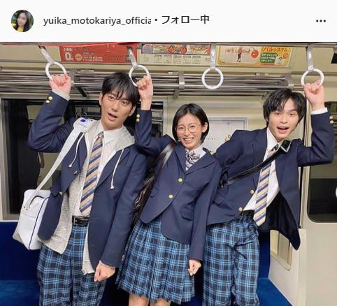 本仮屋ユイカ公式Instagram(yuika_motokariya_official)より
