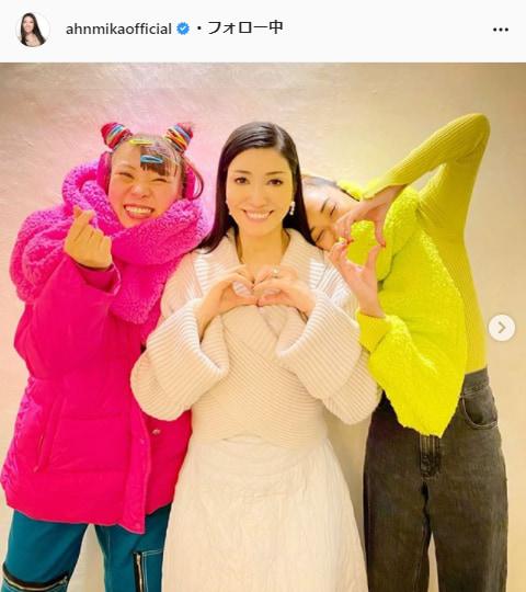 アンミカ公式Instagram(ahnmikaofficial)より