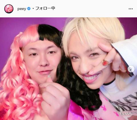 ぺえ公式Instagram(peey)より