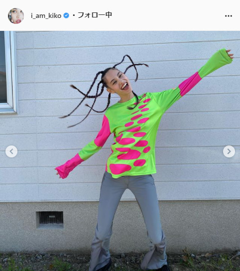 水原希子公式Instagram(i_am_kiko)より