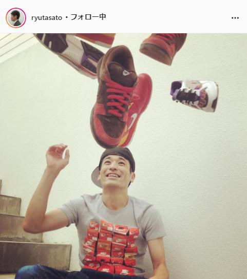 佐藤隆太公式Instagram(ryutasato)より
