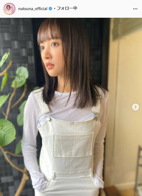 夏菜公式Instagram(natsuna_official)より