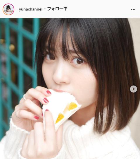 ゆな公式Instagram(_yunachannel)より