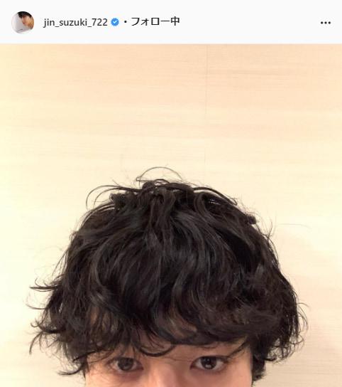 鈴木仁公式Instagram(jin_suzuki_722)より