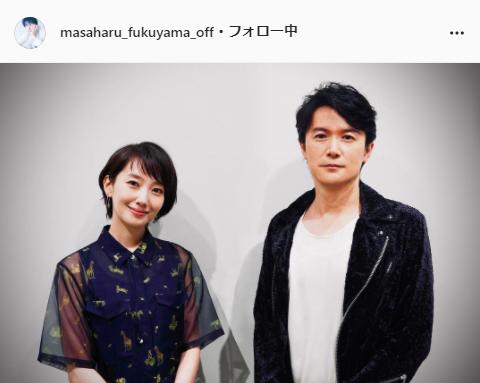 福山雅治公式Instagram(masaharu_fukuyama_official)より
