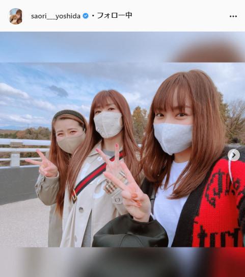 吉田沙保里公式Instagram(saori___yoshida)より