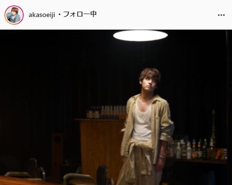 赤楚衛二公式Instagram(akasoeiji)より