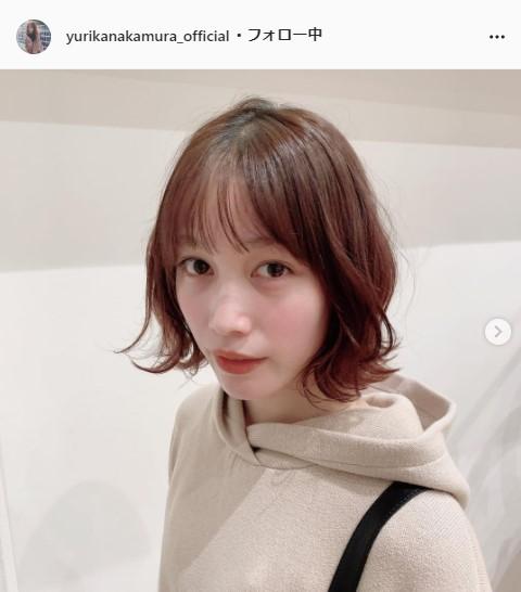 中村ゆりか公式Instagram(yurikanakamura_official)より