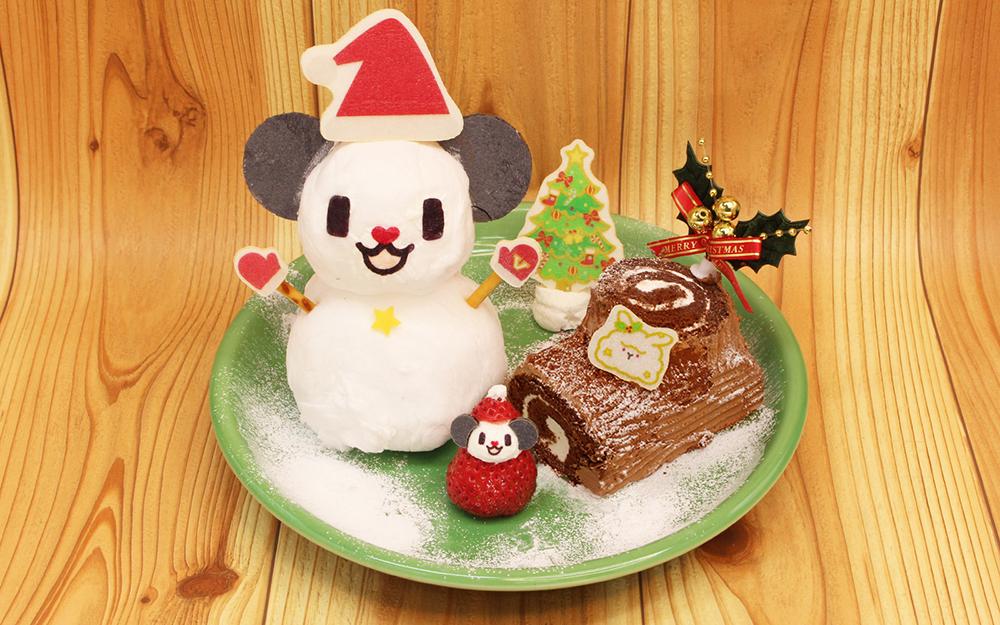 「ゴーちゃん。ふわふわクリスマスケーキ」