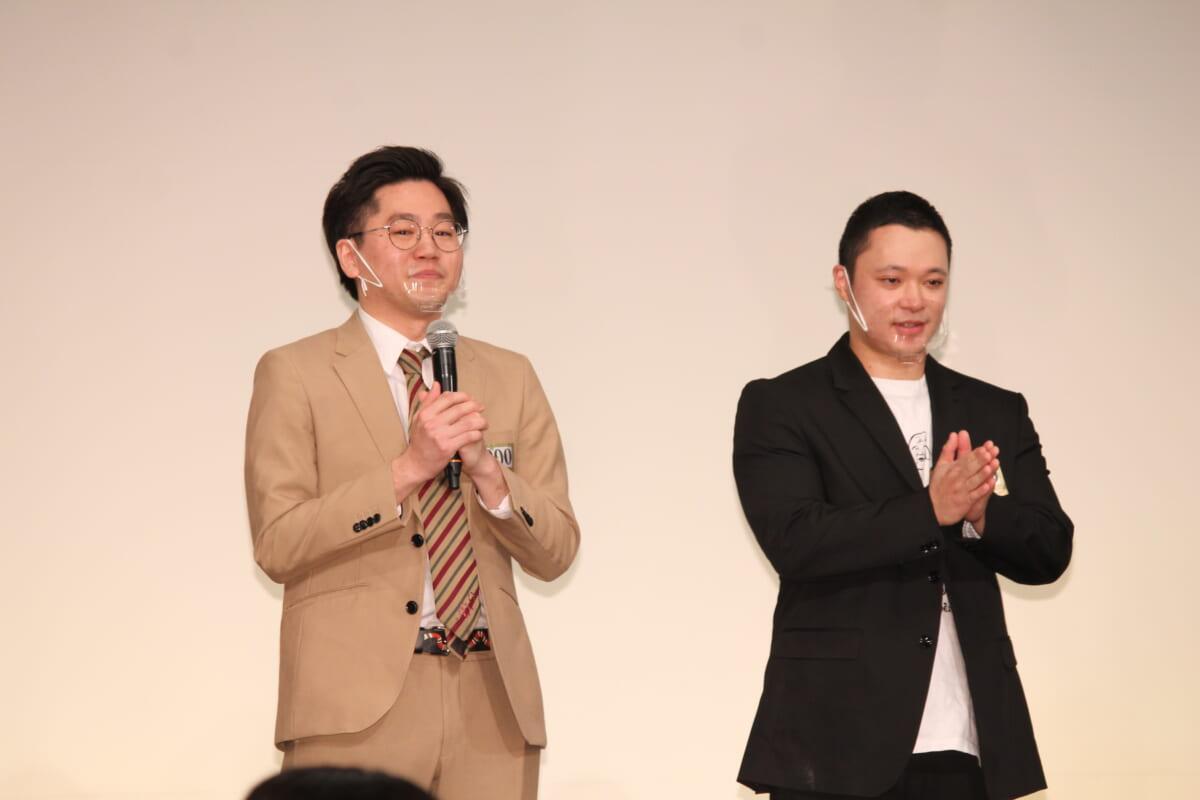 『M-1グランプリ2020』決勝進出者発表会見