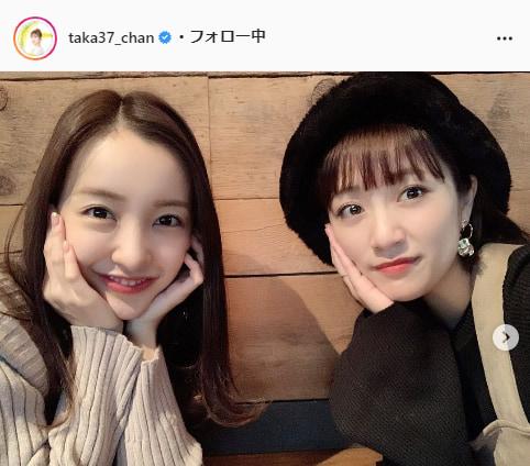 高橋みなみ公式Instagram(taka37_chan)より