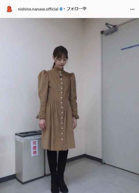 西野七瀬公式Instagram(nishino.nanase.official)より