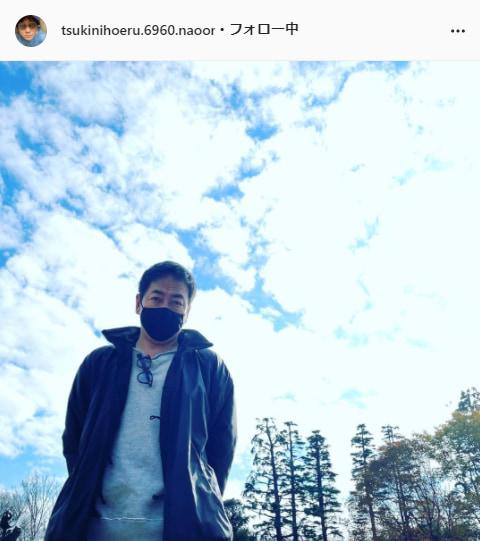 大森南朋公式Instagram(tsukinihoeru.6960.naoomori)より