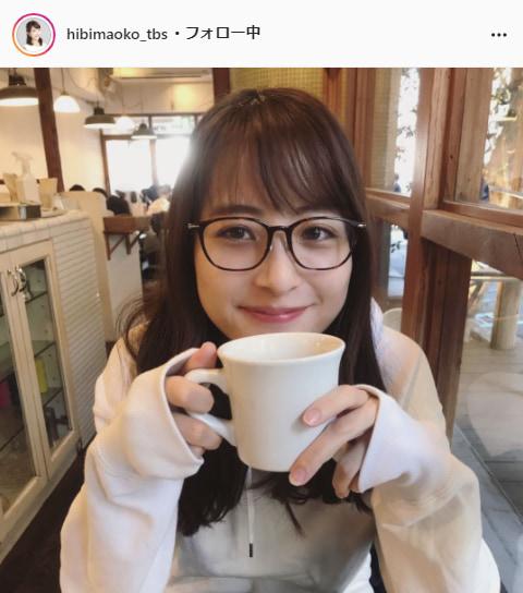 TBS日比麻音子アナウンサー公式Instagram(hibimaoko_tbs)より