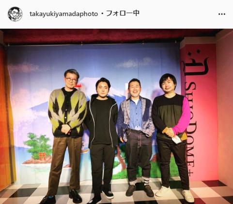 山田孝之公式Instagram(takayukiyamadaphoto)より