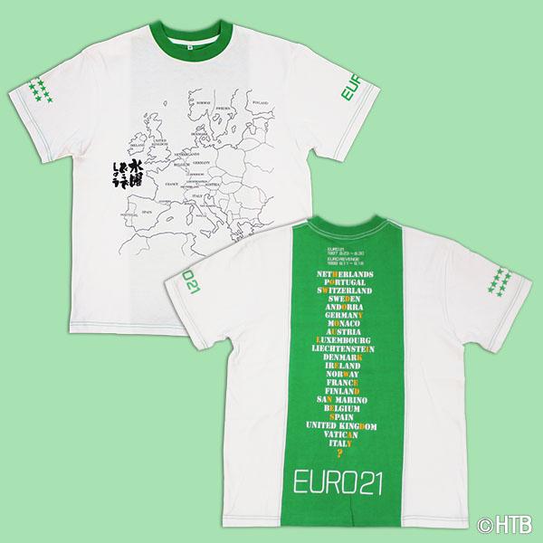 「EURO21Tシャツ(グリーン)」