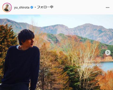 城田優公式Instagram(yu_shirota)より