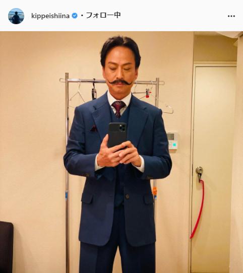 椎名桔平公式Instagram(kippeishiina)より