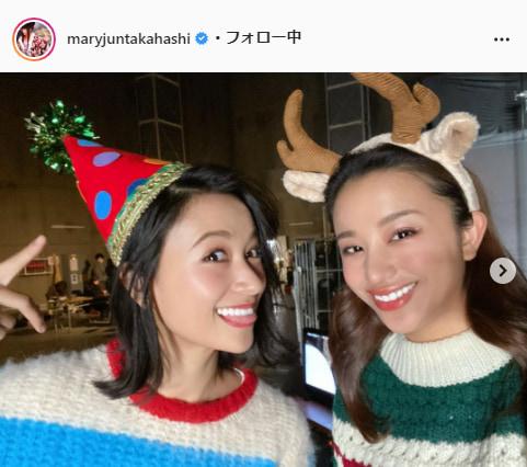 高橋メアリージュン公式Instagram(maryjuntakahashi)より
