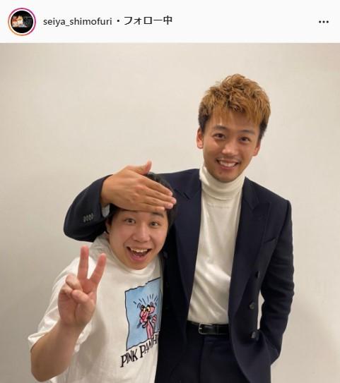 霜降り明星・せいや公式Instagram(seiya_shimofuri )より