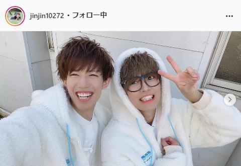 スカイピース・☆イニ☆公式Instagram(jinjin10272)より