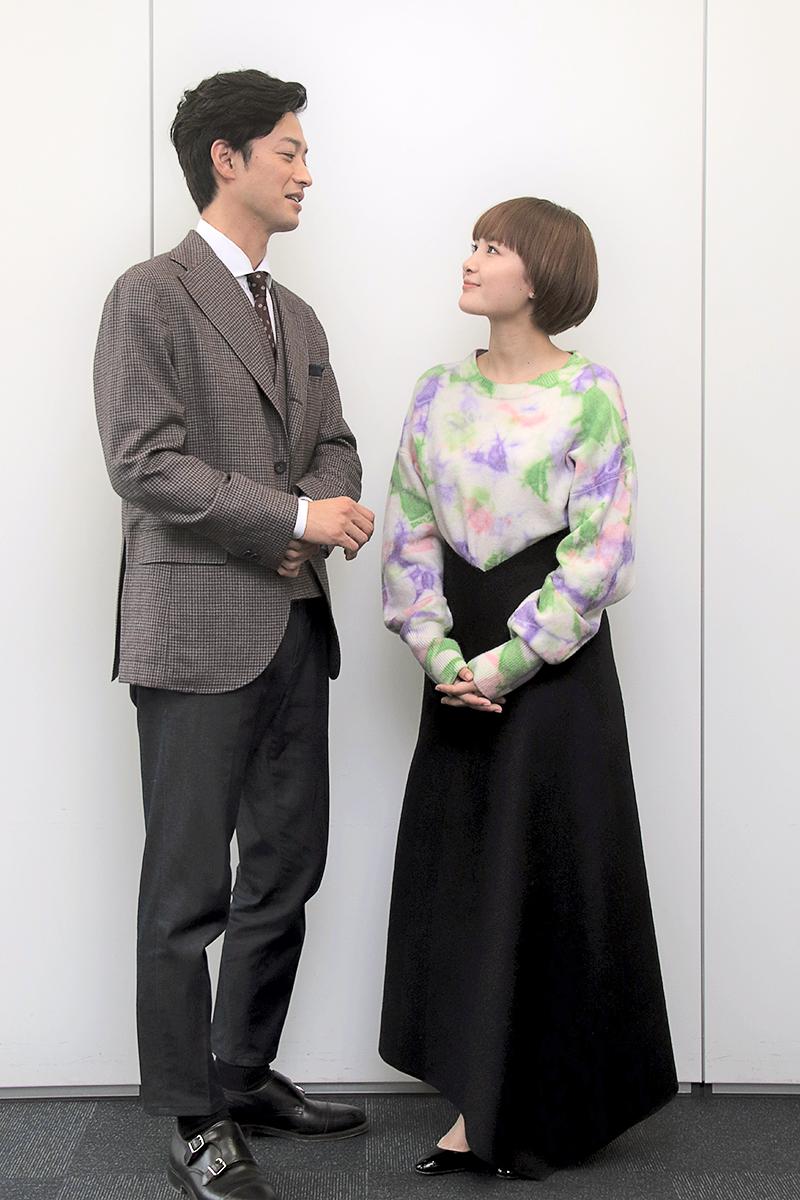 『年の差婚』葵わかな×竹財輝之助インタビュー