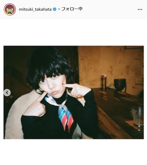 高畑充希公式Instagram(mitsuki_takahata)より