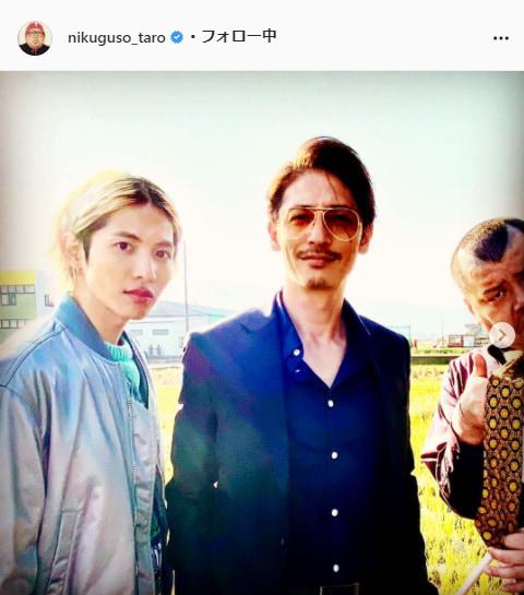野性爆弾・くっきー!公式Instagram(nikuguso_taro)より