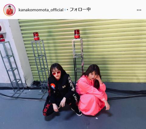 ももいろクローバーZ・百田夏菜子公式Instagram(kanakomomota_official)より
