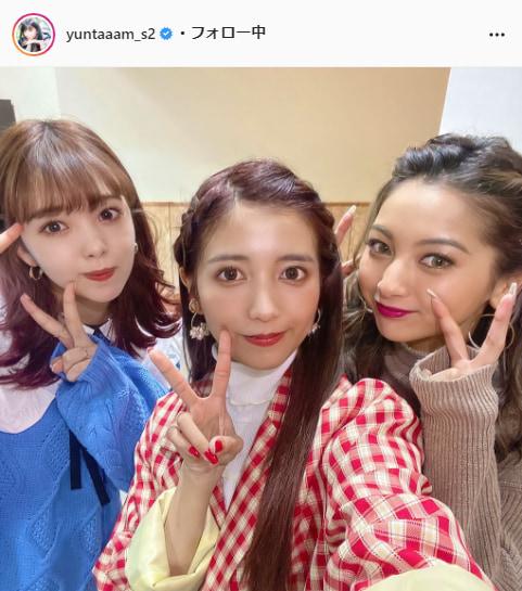 ゆん公式Instagram(yuntaaam_s2)より