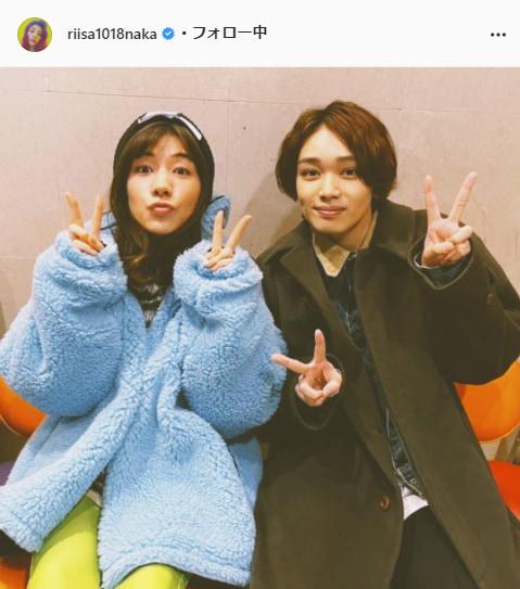 仲里依紗公式Instagram(riisa1018naka)より