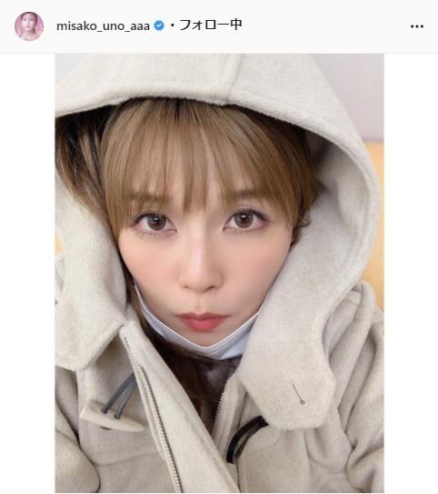 AAA・宇野実彩子公式Instagram(misako_uno_aaa)より