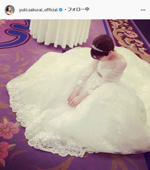 桜井ユキ公式Instagram(yuki.sakurai_official)より