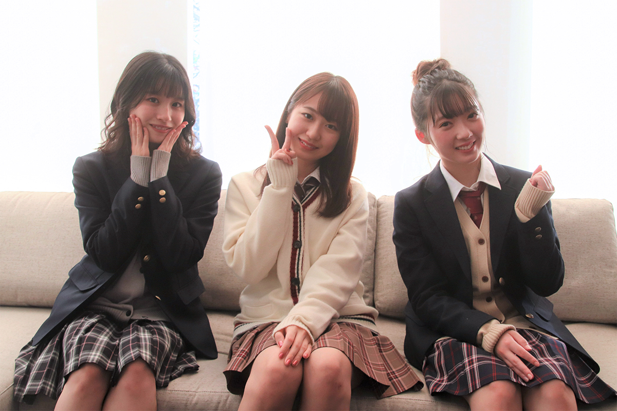 野中美希×山岸理子×浅倉樹々インタビュー『ハロプロTOKYO散歩 Season2』