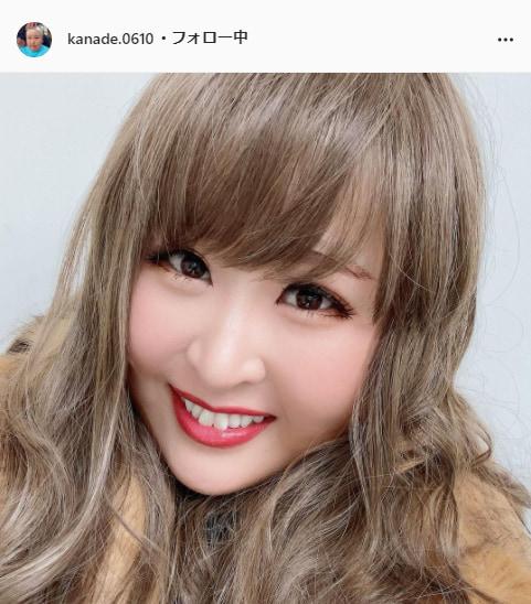 3時のヒロイン・かなで公式Instagram(kanade.0610)より
