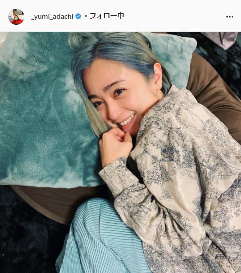 安達祐実公式Instagram(_yumi_adachi)より