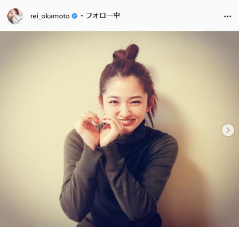 岡本玲公式Instagram(rei_okamoto)より