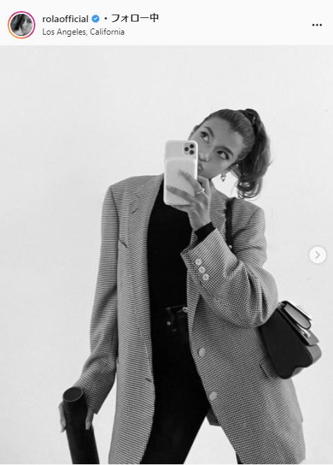 ローラ公式Instagram(rolaofficial)より