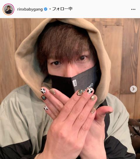 EXIT・りんたろー公式Instagram(rinxbabygang)より