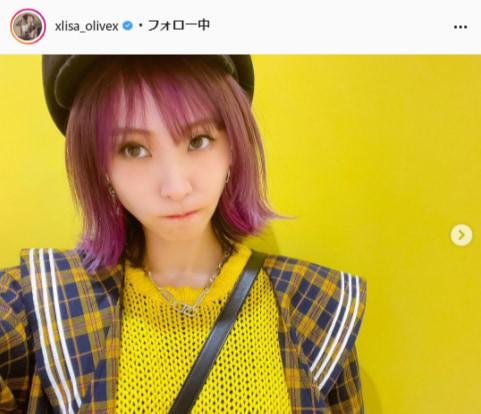 LiSA公式Instagram(xlisa_olivex)より