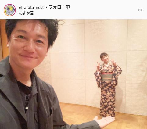 井浦新公式Instagram(el_arata_nest)より