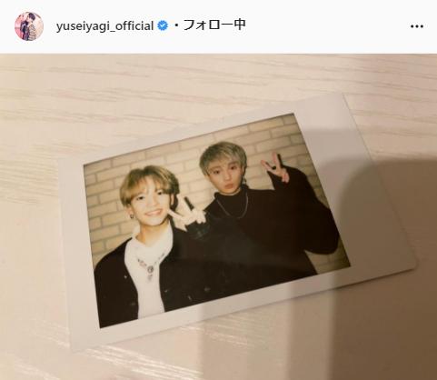 FANTASTICS・八木勇征公式Instagram(yuseiyagi_official)より