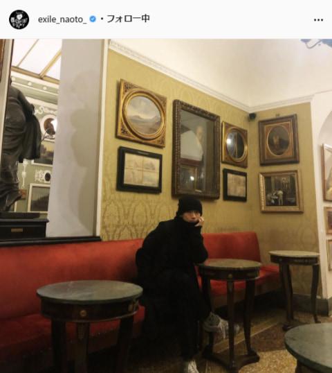 EXILE NAOTO公式Instagram(exile_naoto_)より