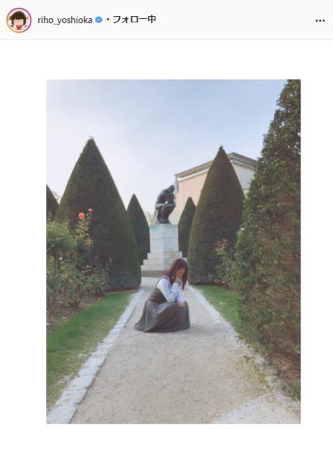 吉岡里帆公式Instagram(riho_yoshioka)より